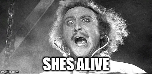 SHES ALIVE | made w/ Imgflip meme maker