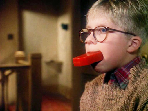 The Christmas Story Ralphie.Ralphie A Christmas Story Soap Bar In Mouth Blank