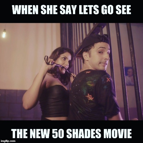 50 shades of Jay | image tagged in 50 shades of jay,dominatrix,50 shades of grey,freaky,girlfriend | made w/ Imgflip meme maker