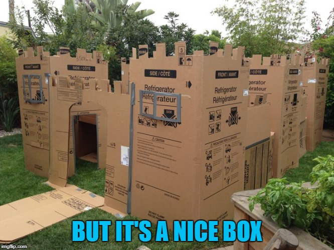 BUT IT'S A NICE BOX | made w/ Imgflip meme maker