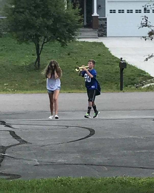 Trumpet Boy Blank Template Imgflip