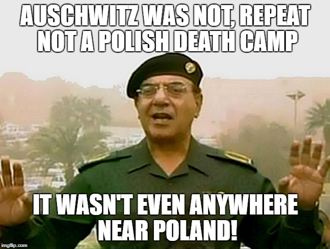"You now risk three years in prison in Poland if you call Auschwitz a ""Polish death camp"" 