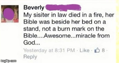 Miracle From God | image tagged in christianity | made w/ Imgflip meme maker