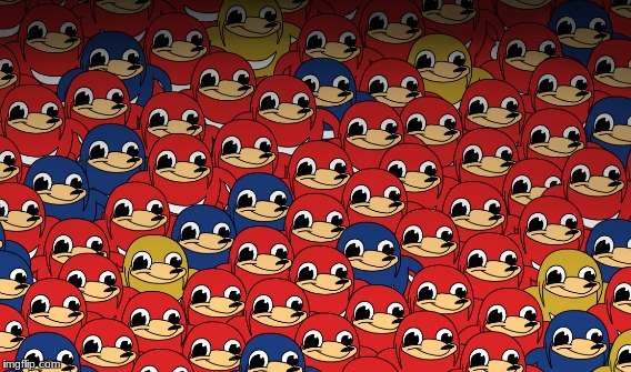 army of knuckles | image tagged in do you know the way,ugandan knuckles,army,ugandan army | made w/ Imgflip meme maker