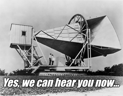 Yes, we can hear you now… | image tagged in big ear | made w/ Imgflip meme maker