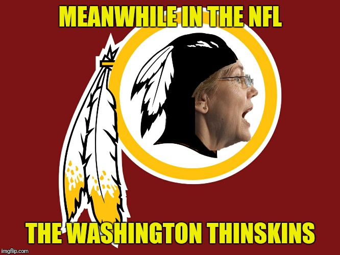 MEANWHILE IN THE NFL THE WASHINGTON THINSKINS | made w/ Imgflip meme maker