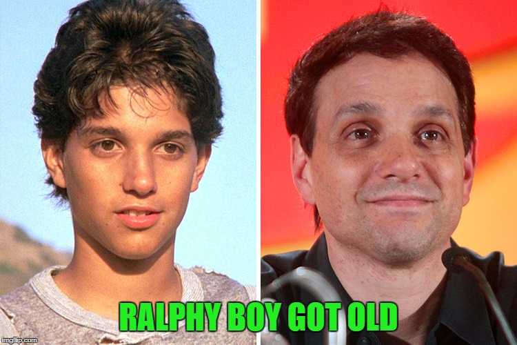 RALPHY BOY GOT OLD | made w/ Imgflip meme maker