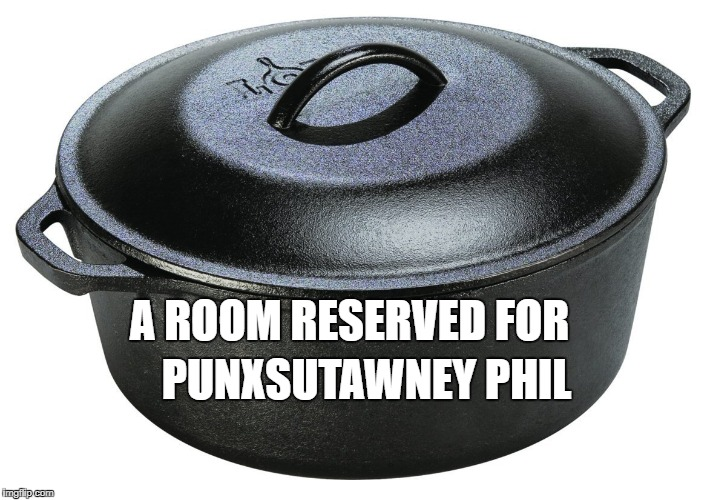 if he's sees his shadow... | A ROOM RESERVED FOR PUNXSUTAWNEY PHIL | image tagged in groundhog day,memes | made w/ Imgflip meme maker