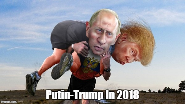 Putin-Trump In 2018 | made w/ Imgflip meme maker