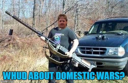 WHUD ABOUT DOMESTIC WARS? | made w/ Imgflip meme maker