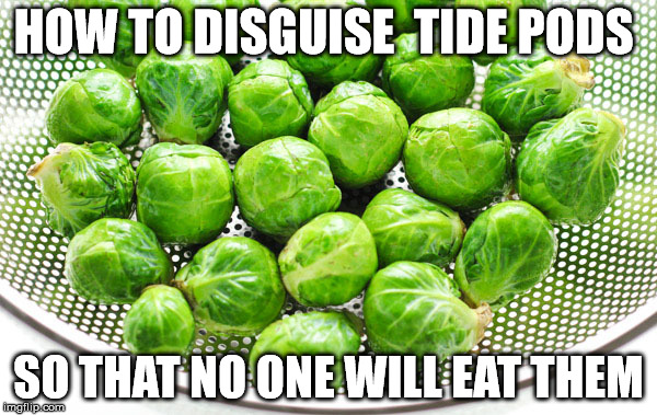 HOW TO DISGUISE  TIDE PODS SO THAT NO ONE WILL EAT THEM | image tagged in tide pods | made w/ Imgflip meme maker