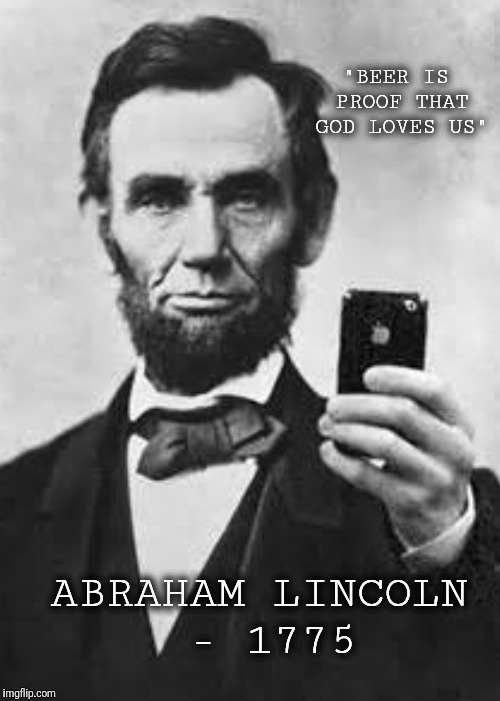 "Happy Friday! Here is an excerpt from Abe Lincoln's ""I Have A Dream"" speech 