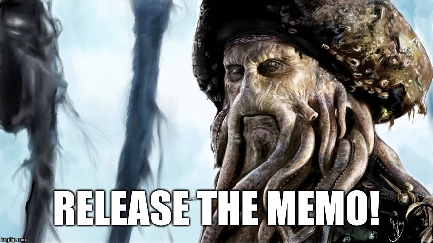 "Memo: ""Kraken"" 