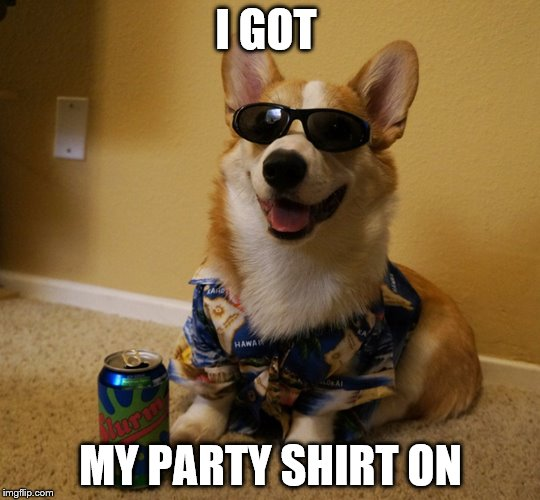 I GOT MY PARTY SHIRT ON | made w/ Imgflip meme maker