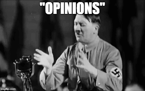 """OPINIONS"" 
