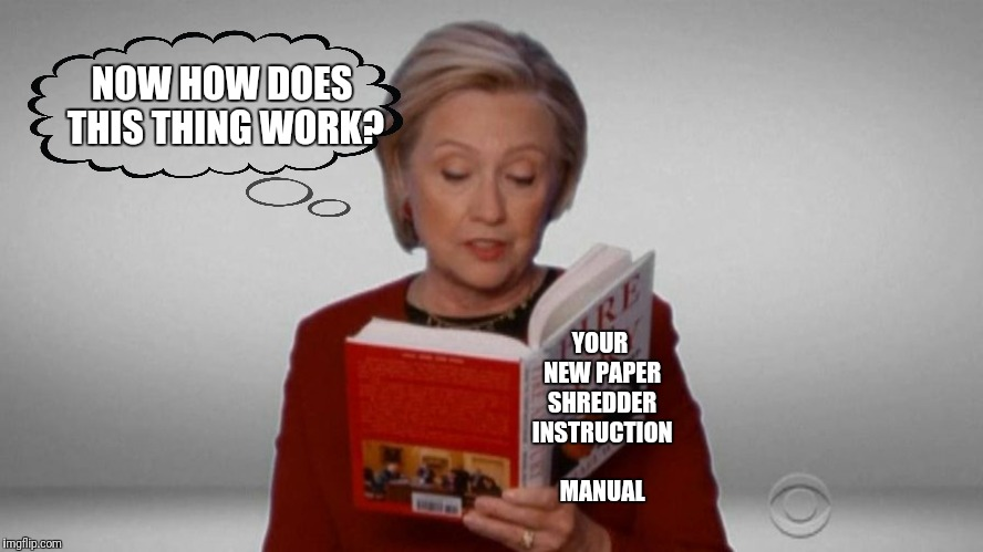 YOUR NEW PAPER SHREDDER INSTRUCTION MANUAL NOW HOW DOES THIS THING WORK? | made w/ Imgflip meme maker