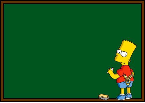 simpson s blackboard blank template imgflip
