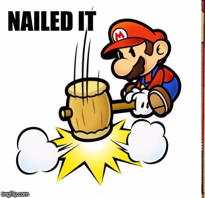 NAILED IT | made w/ Imgflip meme maker