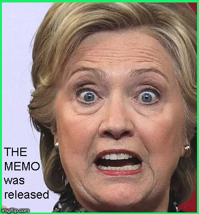 At that moment, she asked herself, WTF am I blackmailing all these FBI & Democrat pedophiles for, if they can't hide this | image tagged in the memo,hillary jail,current events,political meme,politics lol,funny memes | made w/ Imgflip meme maker