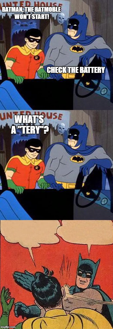 "Kids today be like, ""just call AAA"" 