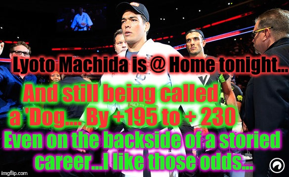 "Congratulations to Lyoto on another ""W"". - the prediction was made pre-fight. 