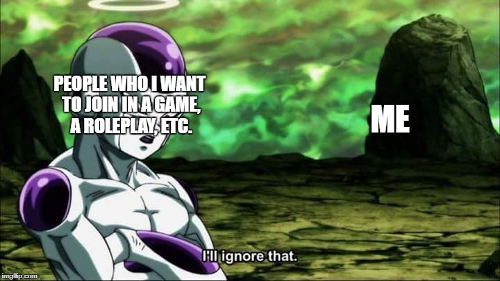 "Frieza Dragon ball super ""I'll ignore that"" 