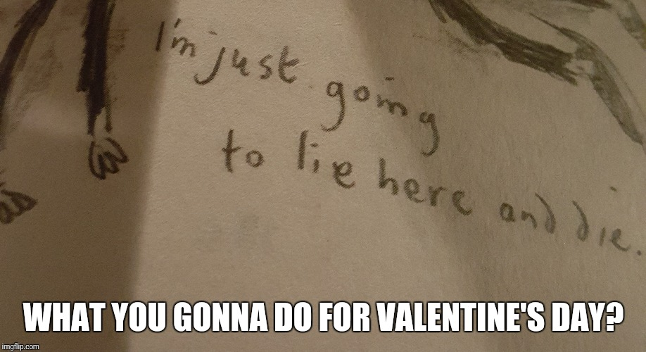 Here is my plan... | WHAT YOU GONNA DO FOR VALENTINE'S DAY? | image tagged in memes,new template | made w/ Imgflip meme maker