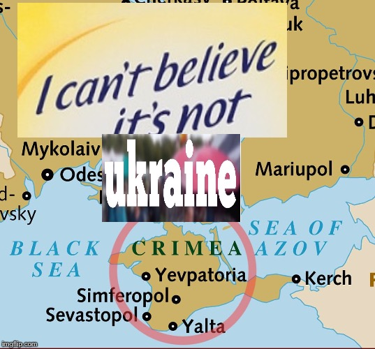 Uh Oh Crimea | image tagged in uh oh crimea | made w/ Imgflip meme maker