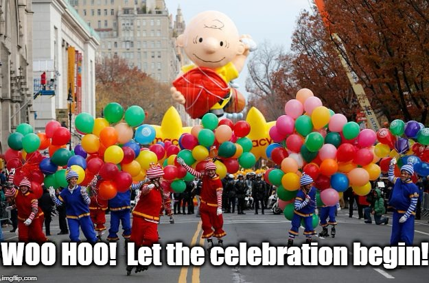 WOO HOO!  Let the celebration begin! | made w/ Imgflip meme maker