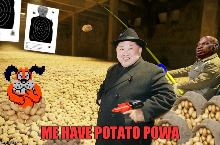 ME HAVE POTATO POWA | made w/ Imgflip meme maker