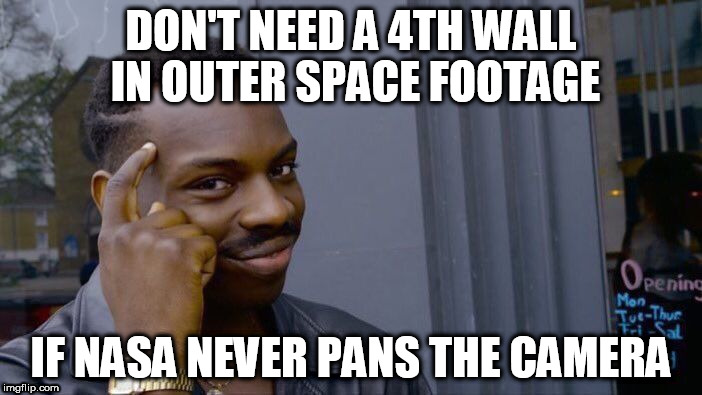 "there is absolutely "" NO"" moving footage of the Earth, space, etc... 