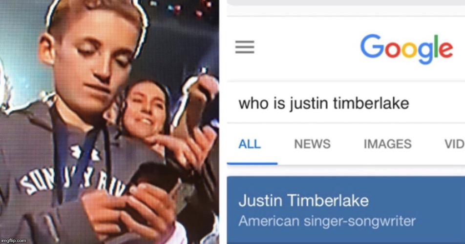 Super Bowl Selfie Kid | image tagged in superbowl selfie kid,super bowl 52,justin timberlake | made w/ Imgflip meme maker