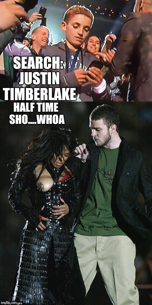 What half time Selfie Kid was really looking at  | SEARCH: JUSTIN TIMBERLAKE HALF TIME SHO....WHOA | image tagged in justin timberlake,funny memes,selfie | made w/ Imgflip meme maker