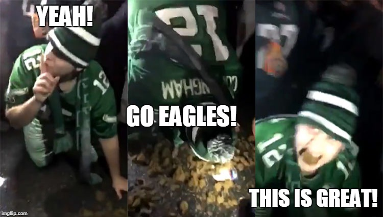 YEAH! THIS IS GREAT! GO EAGLES! | made w/ Imgflip meme maker
