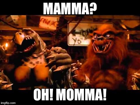 Tokka mamma | MAMMA? OH! MOMMA! | image tagged in tmnt | made w/ Imgflip meme maker