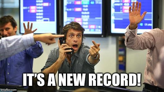 Buybuybuy | IT'S A NEW RECORD! | image tagged in buybuybuy | made w/ Imgflip meme maker