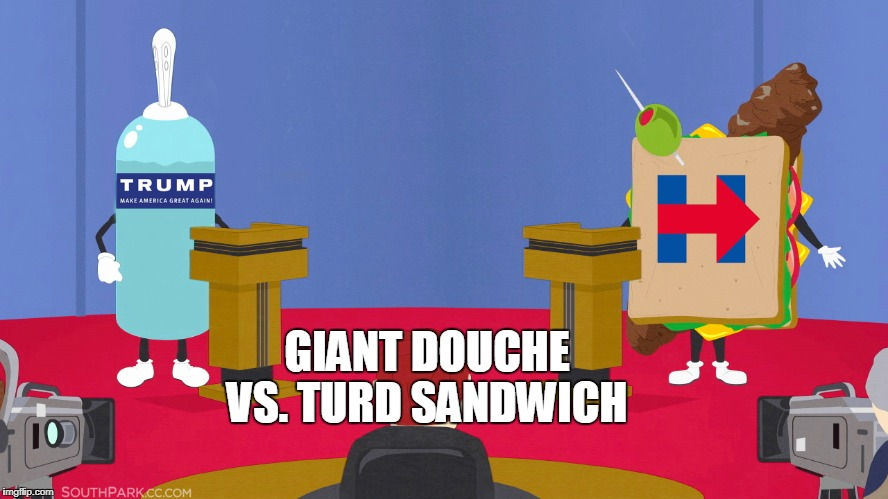 GIANT DOUCHE VS. TURD SANDWICH | made w/ Imgflip meme maker