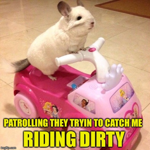 PATROLLING THEY TRYIN TO CATCH ME RIDING DIRTY | made w/ Imgflip meme maker