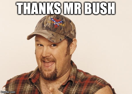 Now that's funny right there | THANKS MR BUSH | image tagged in now that's funny right there | made w/ Imgflip meme maker
