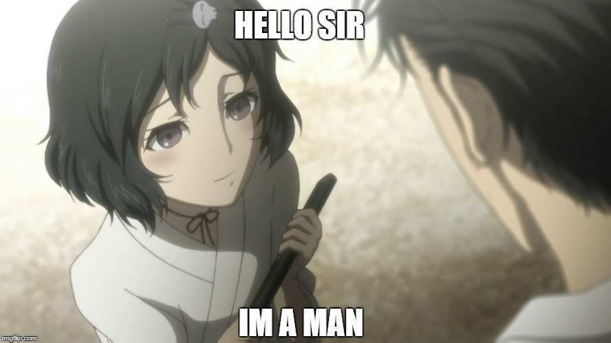HELLO SIR IM A MAN | made w/ Imgflip meme maker