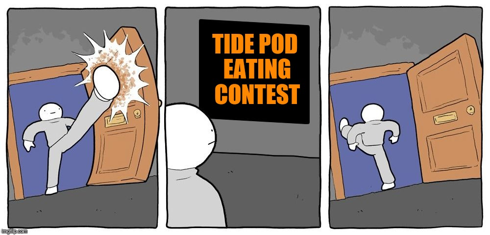 TIDE POD EATING CONTEST | image tagged in deathbulge party,tide pod challenge,new template | made w/ Imgflip meme maker