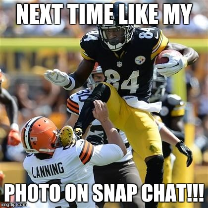 Steelers Karate | NEXT TIME LIKE MY PHOTO ON SNAP CHAT!!! | image tagged in steelers karate | made w/ Imgflip meme maker