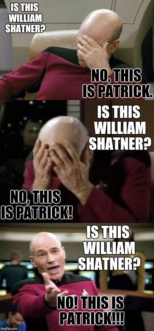 "Who's the first person that comes to your mind when I say ""Star Trek""? 