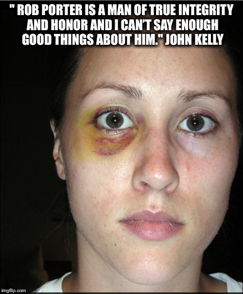 """ ROB PORTER IS A MAN OF TRUE INTEGRITY AND HONOR AND I CAN'T SAY ENOUGH GOOD THINGS ABOUT HIM."" JOHN KELLY 