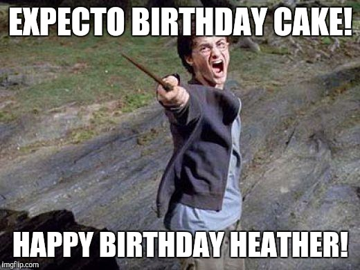 happy birthday harry potter meme Yelling Harry Potter   Imgflip happy birthday harry potter meme