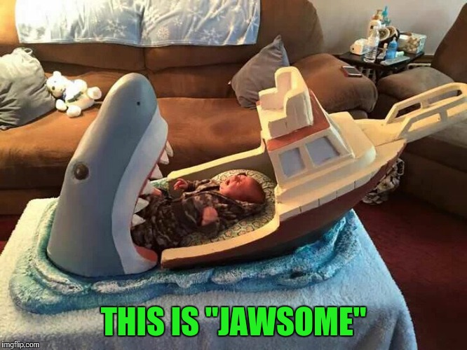 "Must be a big Jaws fan | THIS IS ""JAWSOME"" 