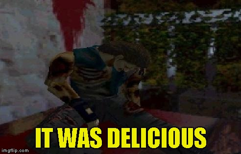 IT WAS DELICIOUS | made w/ Imgflip meme maker