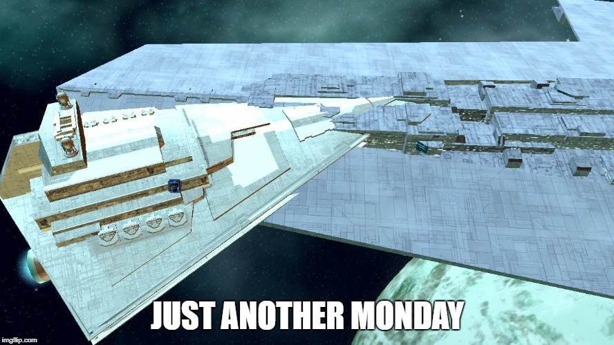 JUST ANOTHER MONDAY | image tagged in incompetence | made w/ Imgflip meme maker