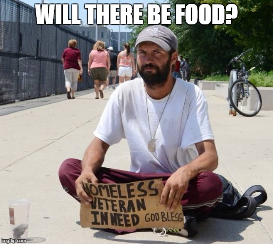 Give Rich Folks Money Instead | WILL THERE BE FOOD? | image tagged in give rich folks money instead | made w/ Imgflip meme maker