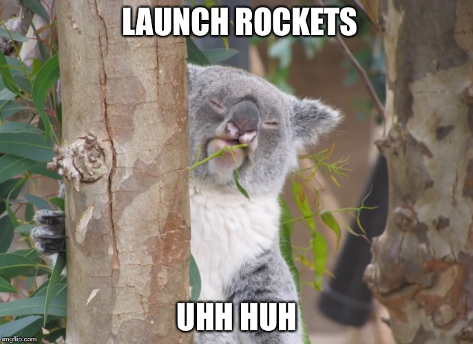 LAUNCH ROCKETS UHH HUH | made w/ Imgflip meme maker